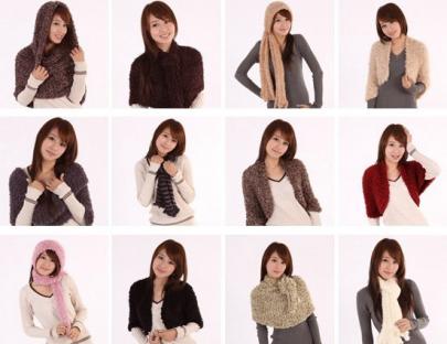 """Скидка 55% на японский шарф-трансформер от компании  """"Стим ДВ """" image 1."""